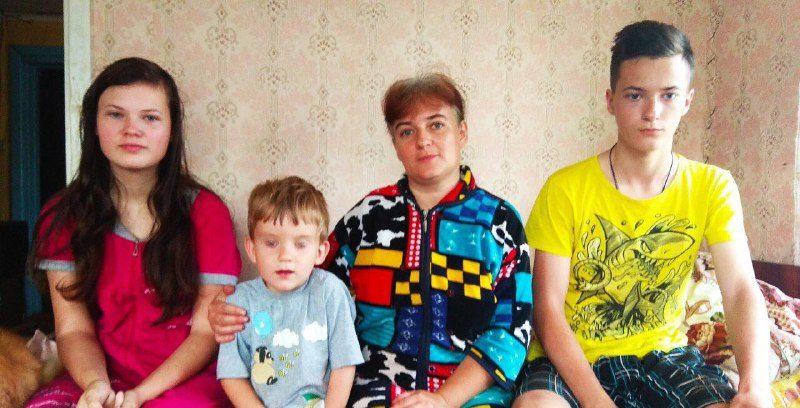 Мать с тремя детьми из Пружан, которые пропали месяц назад, нашли в России
