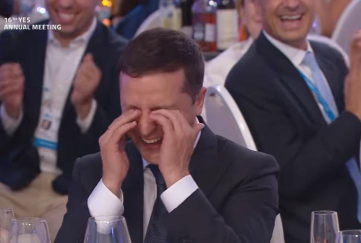 В Украине пошутили над Лукашенко. Смеялся даже Зеленский. Видео