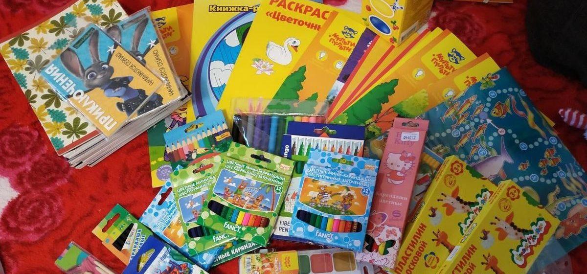 «Учительница попросила вместо цветов купить подарки детям». Как в Барановичах собирают «Коробку храбрости» для детей с онкологией