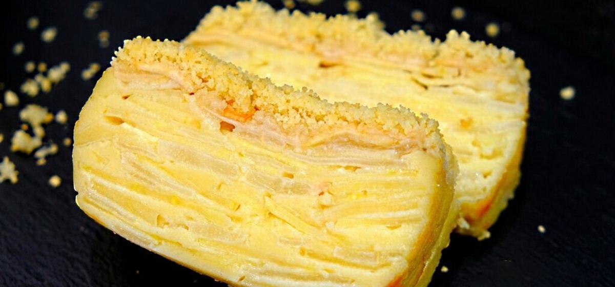Вкусно и просто. Пирог с яблоками и грушами