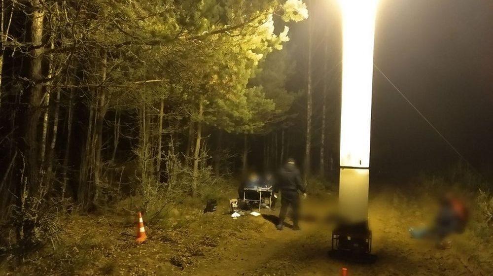 Мужчину зарезали в лесу в Шумилинском районе, когда он с женой возвращался со сбора ягод