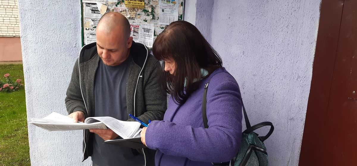 Один день со сборщиками подписей по выдвижению кандидатов в депутаты
