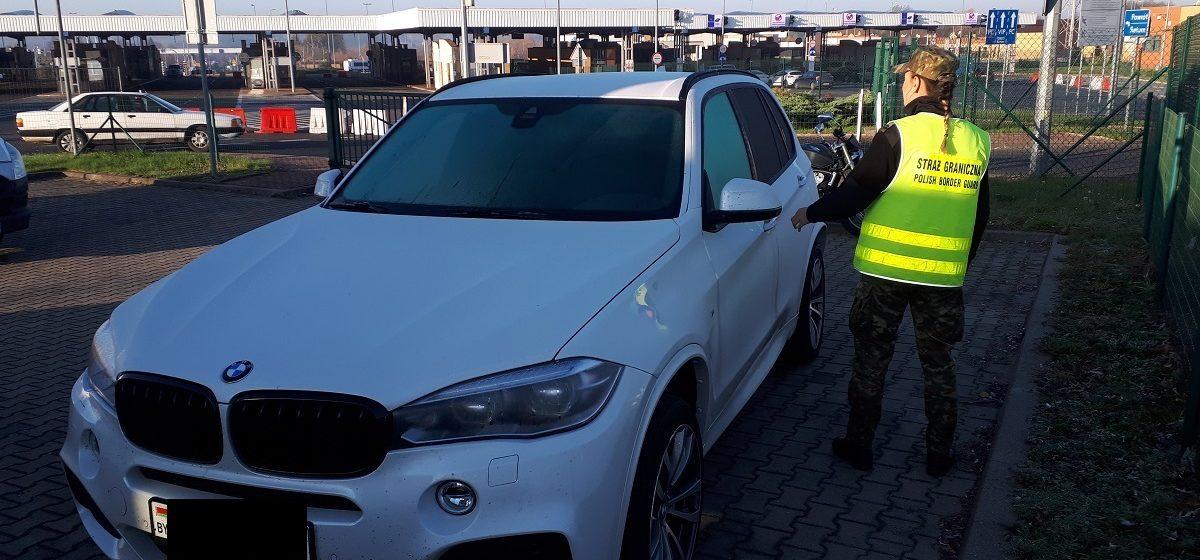 На польской границе у белоруски конфисковали BMW X5