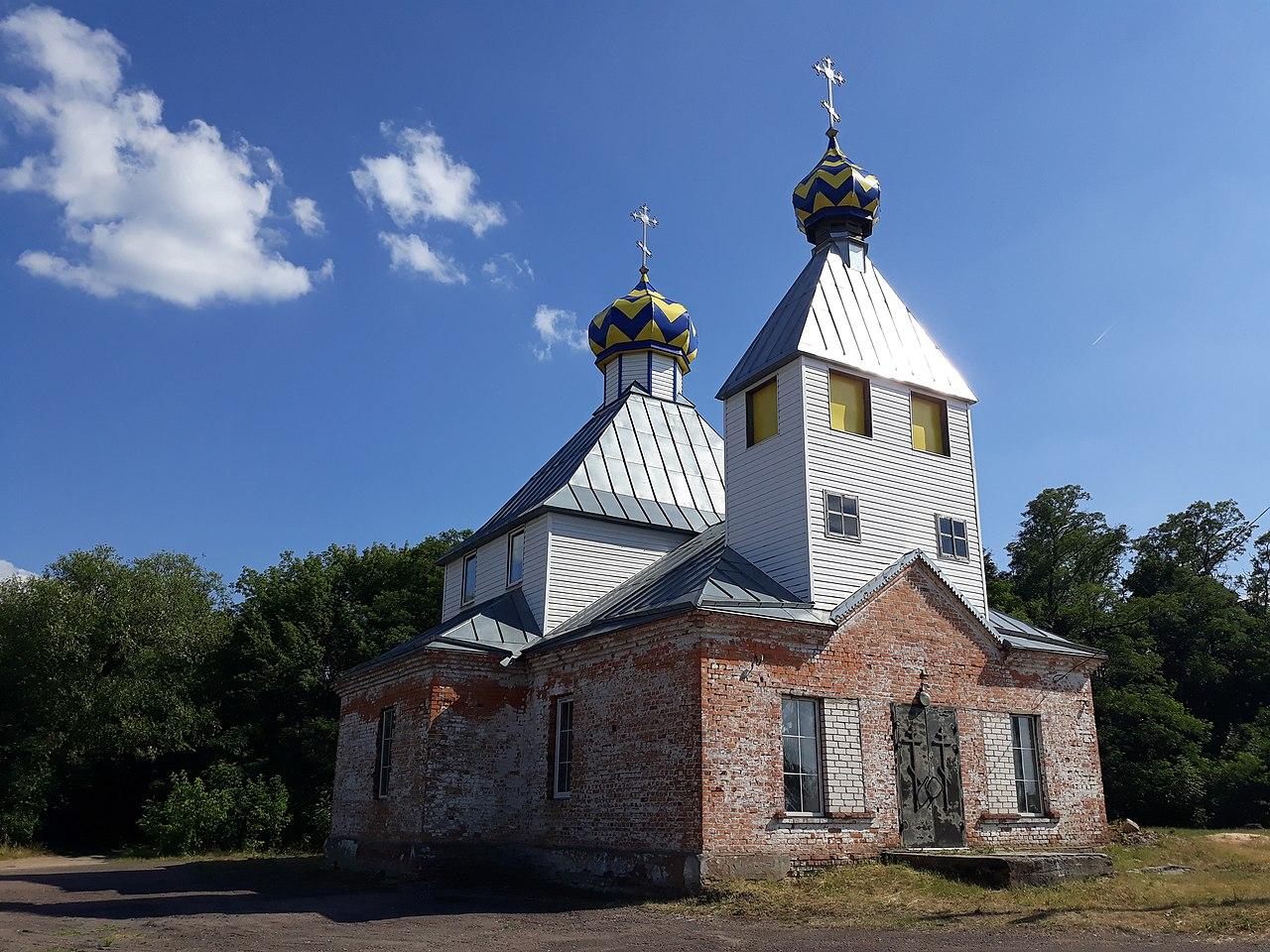 Церковь в Озаричах. https://commons.wikimedia.org/