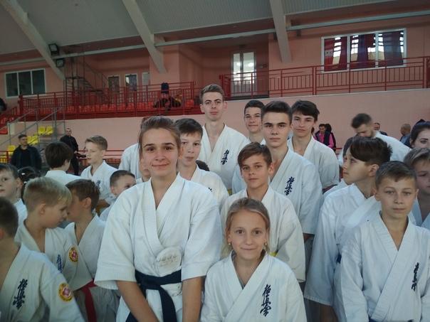 Барановичские каратисты завоевали награды престижного турнира