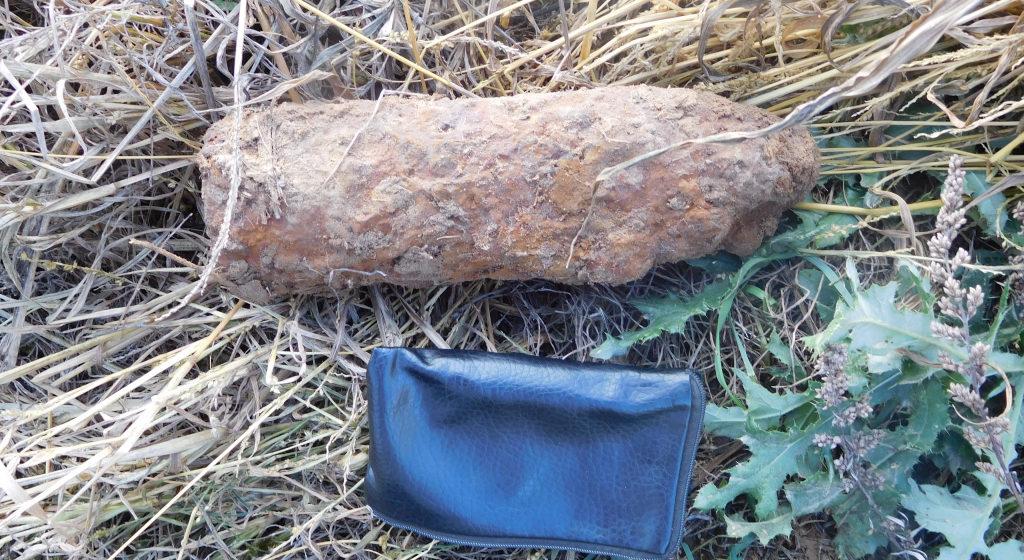 Под Барановичами во время полевых работ нашли 12 снарядов