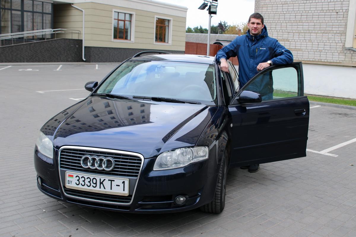 Сергей Богдан – владелец автомобиля Ауди А4 (Б7).  Фото: Александр ЧЕРНЫЙ