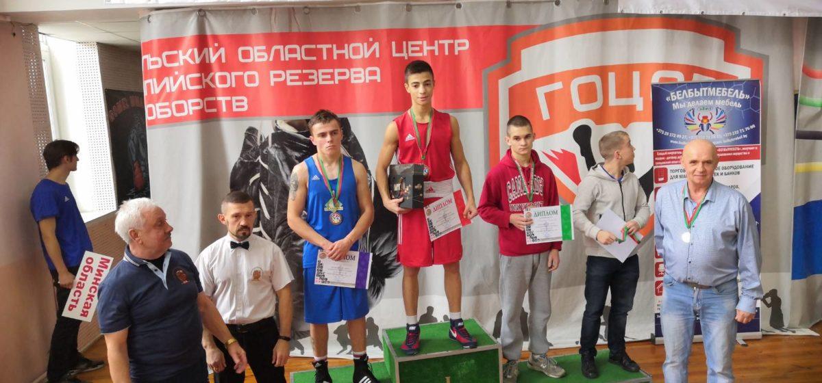 Барановичские боксеры – в числе призеров молодежного Кубка страны