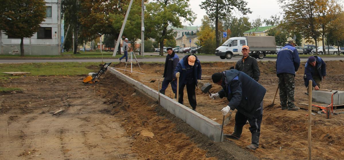 Что строят на пустыре в Военном городке