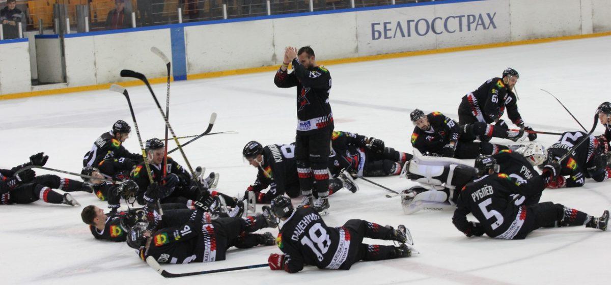 Хоккеисты «Авиатора» удержали победу в домашнем матче с «Бобруйском»
