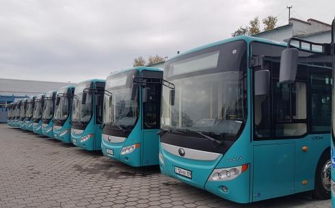 Обновление городского автопарка в Караганде