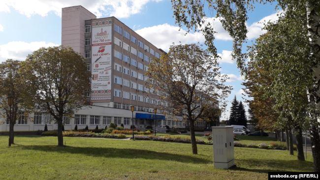 Завод «Зэніт». Запушчаны ў 1979 годзе як структурнае падразьдзяленьне ленінградзкага вытворчага аб'яднаньня «Вектор». Фота: Радыё Свабода
