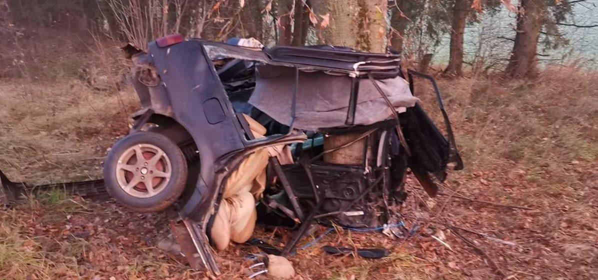 Под Оршей в ДТП погиб 22-летний водитель