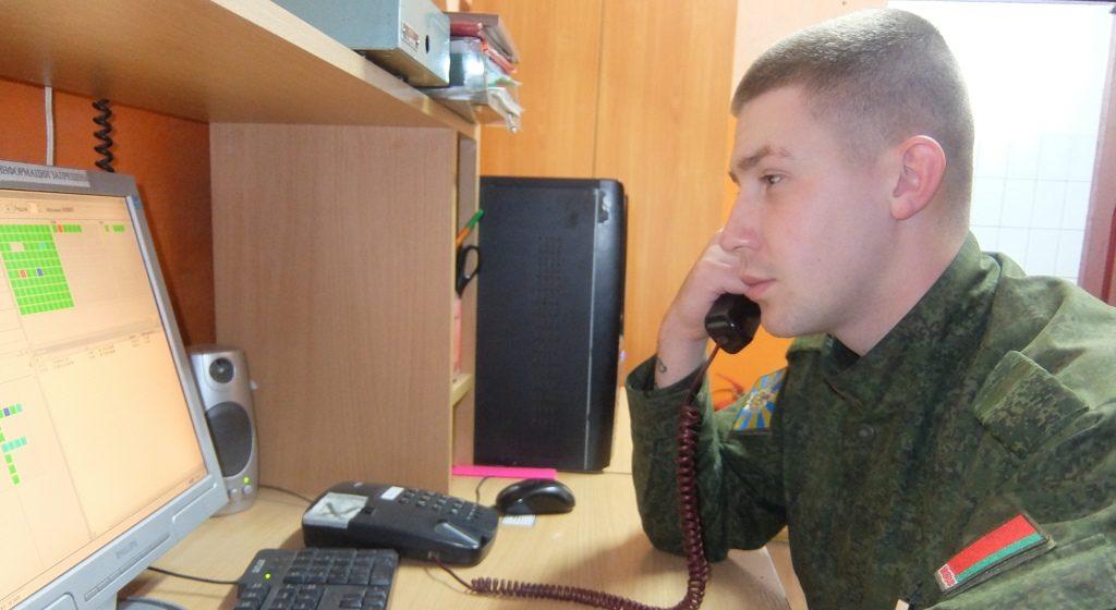 «Связь – нервная система армии». Барановичские военные-связисты – о своей работе