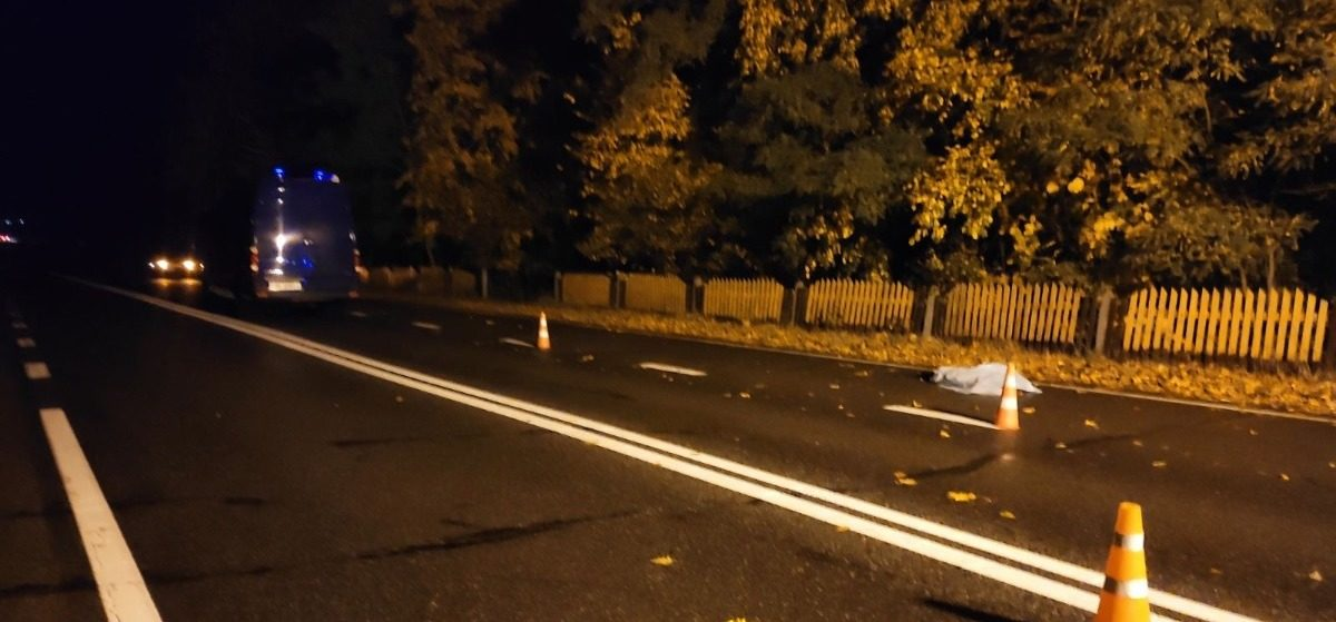 Под Гродно автомобиль насмерть сбил пешехода