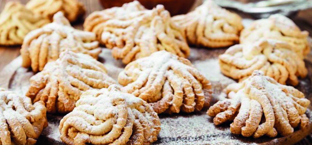 Вкусно и просто. Печенье «Хризантема» через мясорубку