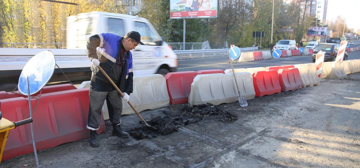 Путепровод на улице Ленина в Барановичах перекроют в седьмой раз