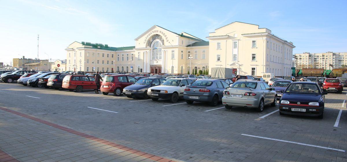 В Барановичах заканчивается реконструкция привокзальной площади
