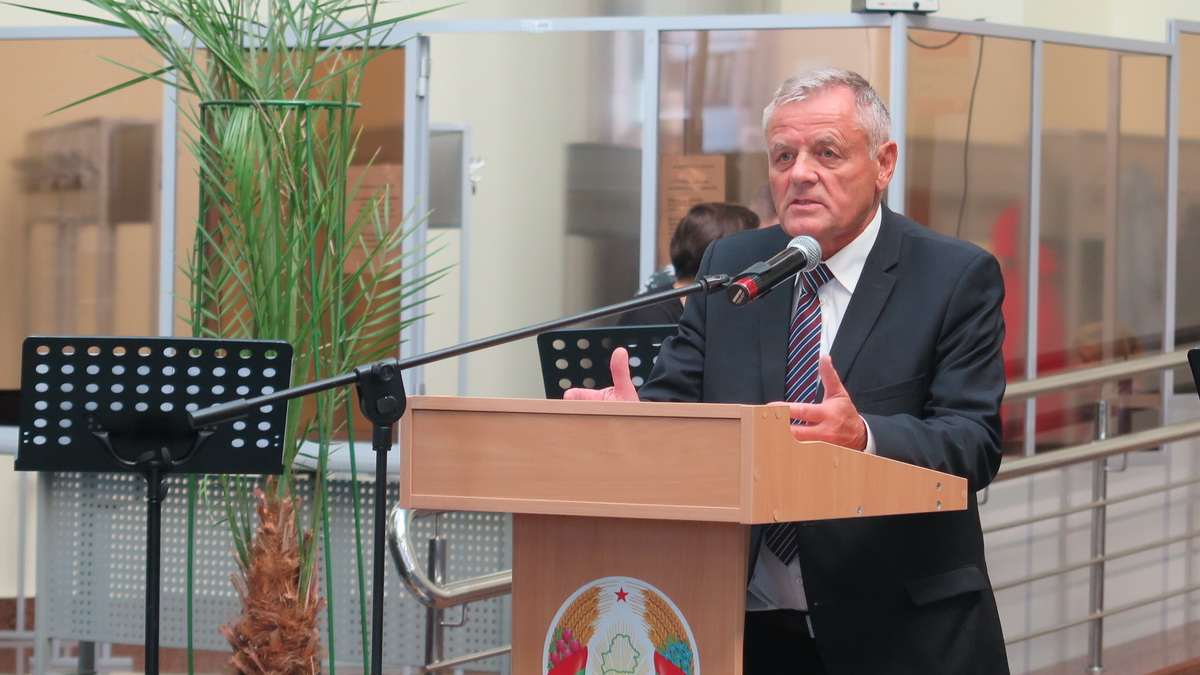 Председатель дирекции IBB Минск Виктор Балакирев. Фото: Диана КОСЯКИНА
