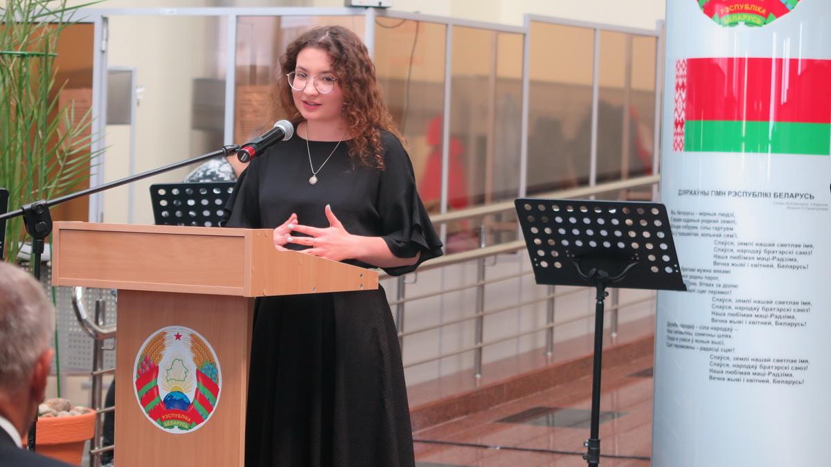 Дарья Павловская, студентка БарГУ. Фото: Диана КОСЯКИНА