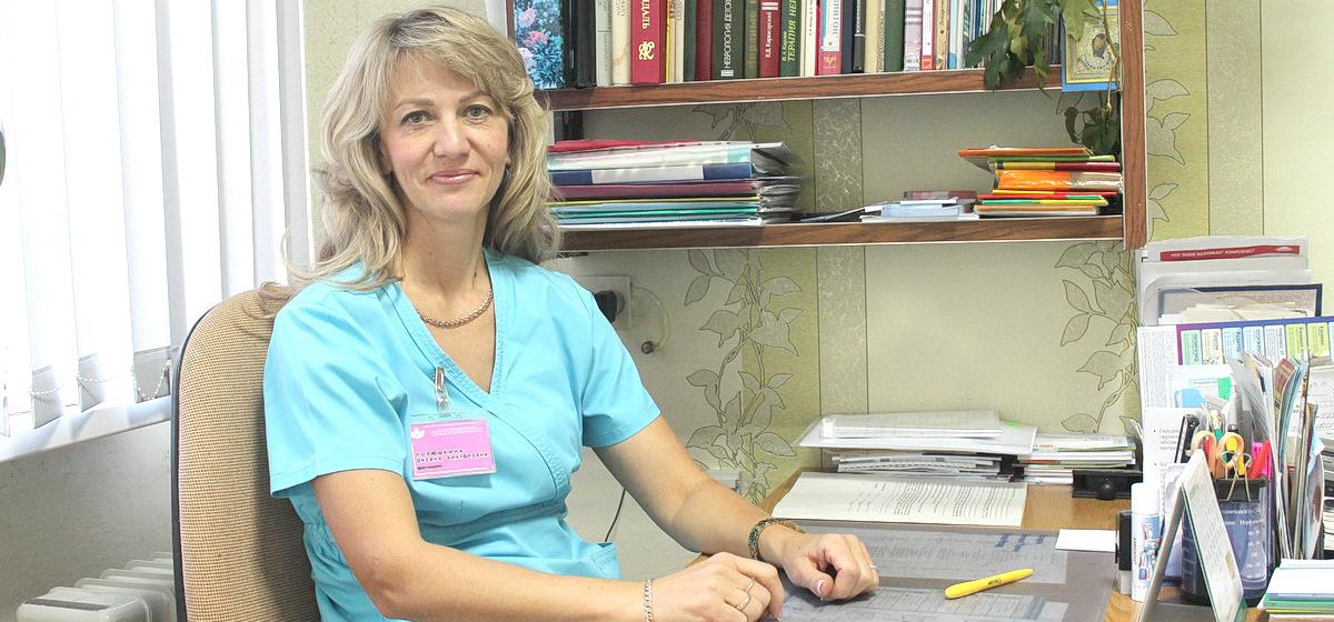 Оксана Полюшкина, врач-невролог городской поликлиники №4. Фото: Татьяна МАЛЕЖ
