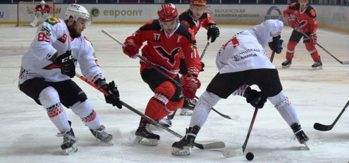 Как хоккейный «Авиатор» сыграл на выезде в Пинске