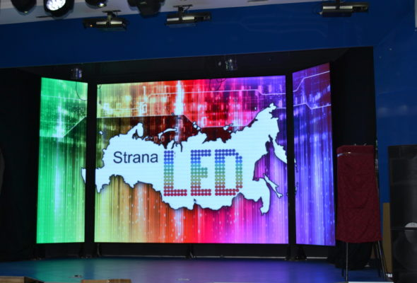 Разнообразие светодиодных экранов: Динамичная реклама для бизнеса