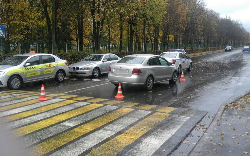 Барановичская милиция разыскивает свидетелей ДТП, в котором Volkswagen сбил пешехода