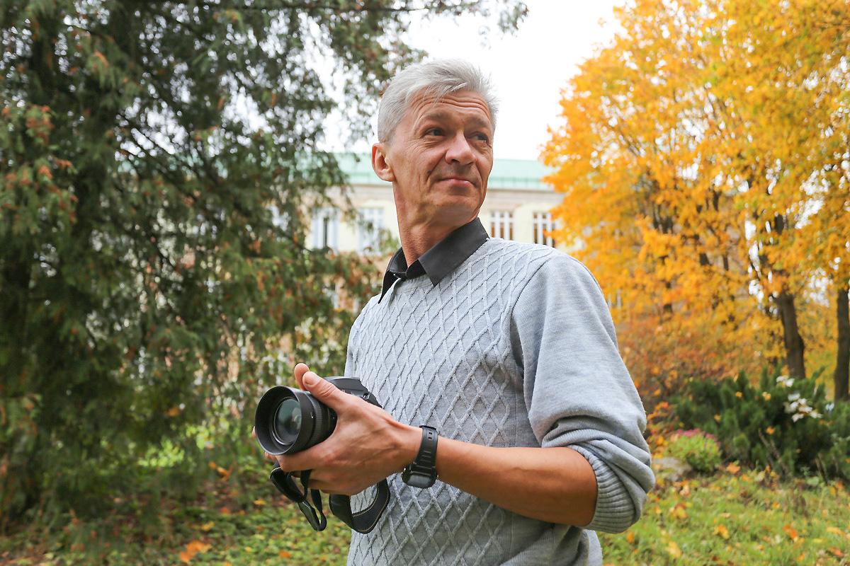Фотограф Андрей Болко.  Фото: Александр ЧЕРНЫЙ
