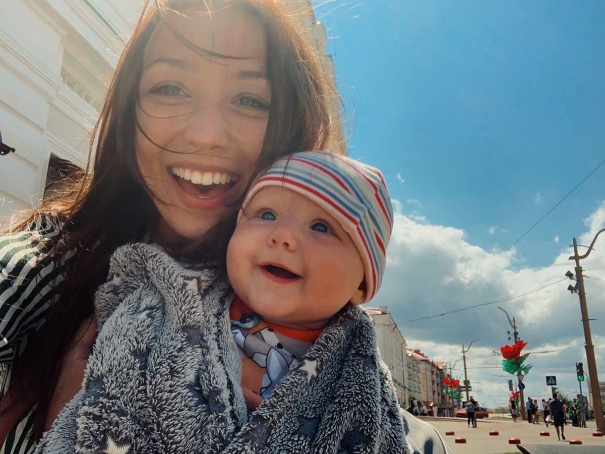 Надя и Соня в Гродно, июль 2019 года. Фото: архив семьи