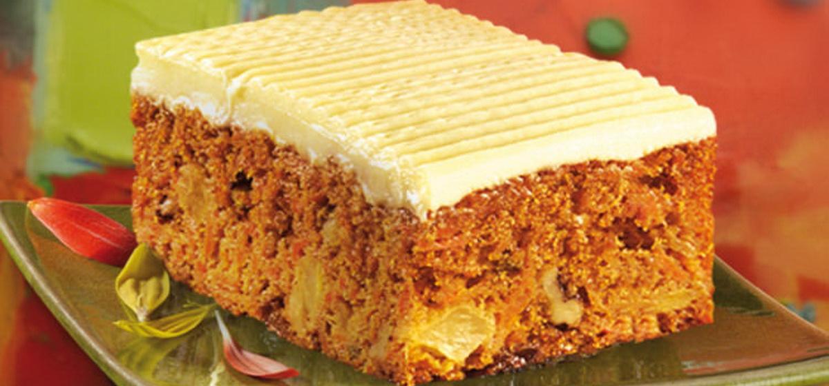 Вкусно и просто. Легкое морковное пирожное
