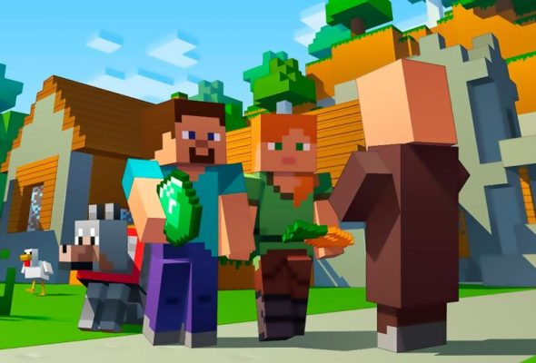 Новый Minecraft 1.14.0.1 на Android