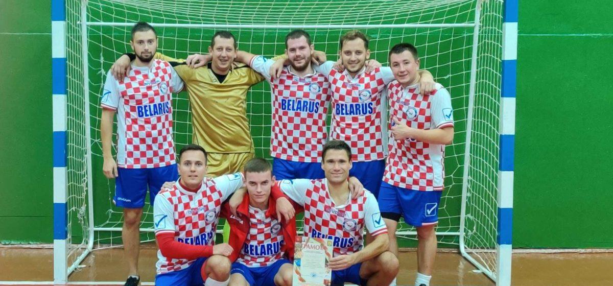 Какое из барановичских предприятий стало лучшим в турнире по мини-футболу