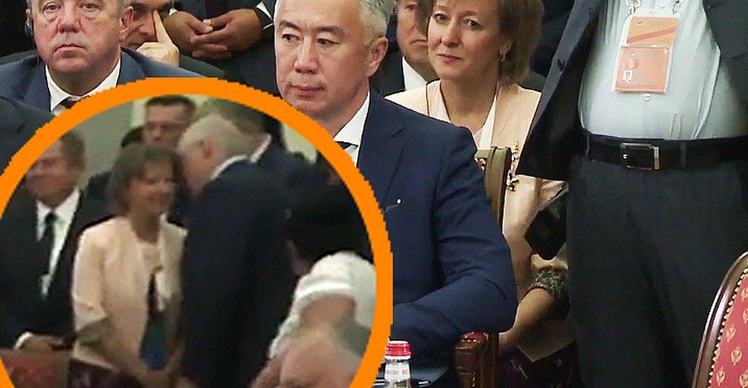 Лукашенко общался с женщиной, хотя должен был сидеть с Пашиняном. Фотофакт