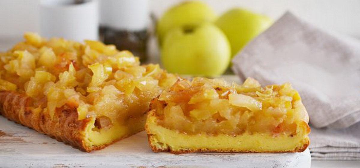 Вкусно и просто. Карамельно-яблочный пудинг