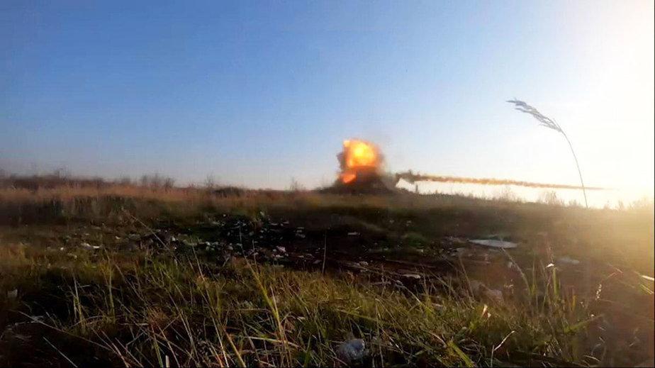 На полигоне под Борисовом испытали новую ракету. Фото