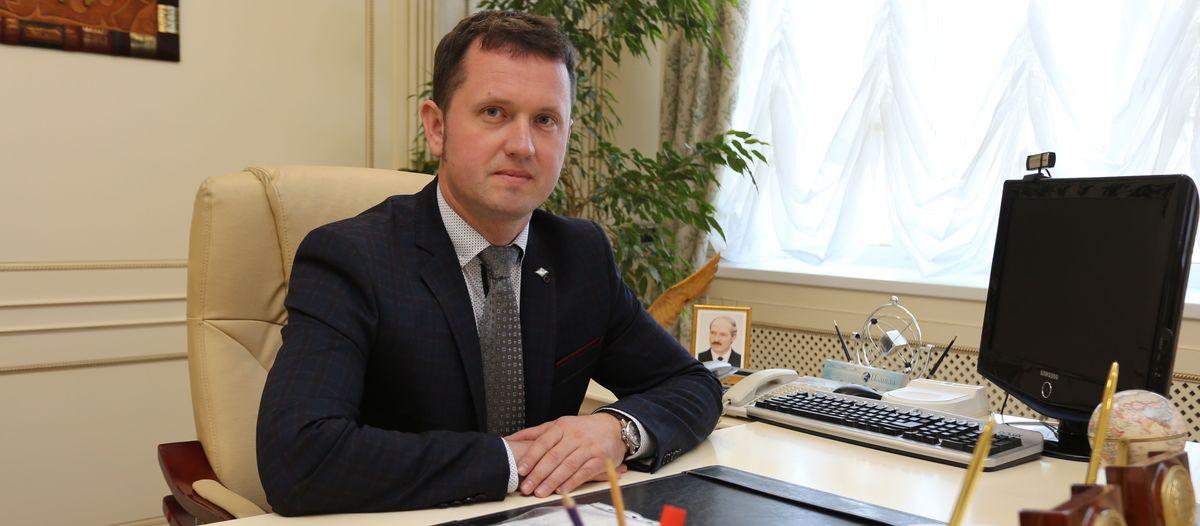 Сергей Герасимчик – директор ОАО «Торгмаш». Фото: Александр ЧЕРНЫЙ