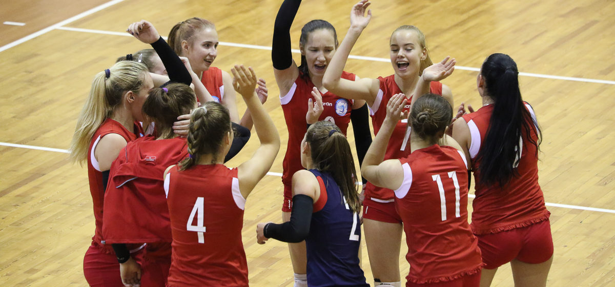 Дали пять. Волейболистки «Атланта-БарГУ» укрепили лидерство, выиграв в гостях