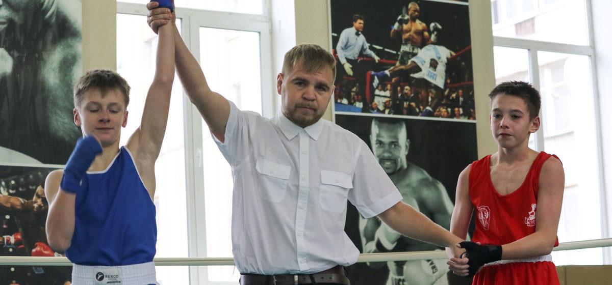 Барановичские школьники отличились на двух боксерских турнирах