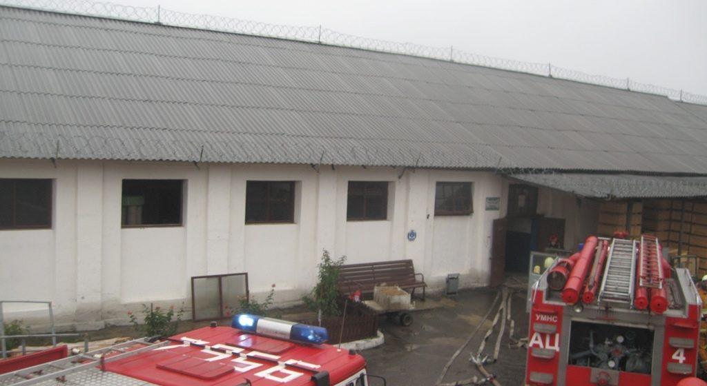 В волковысской колонии произошел пожар. Пострадали трое заключенных
