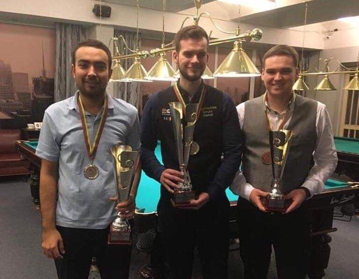 Барановичский спортсмен выиграл серебро Балтийской лиги по бильярду