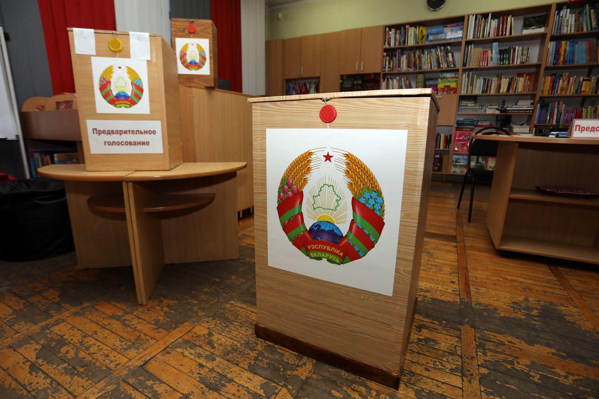 Избирательный участок №26. Фото: Александр ЧЕРНЫЙ
