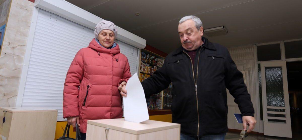 Барановичский регион установил рекорд области по явке избирателей