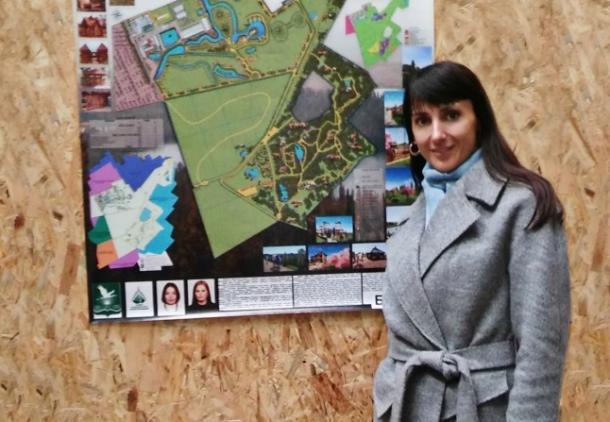 Наталья Чигрин - заведующий кафедрой ландшафтного проектирования Полесского государственного университета. Фото: www.polessu.by