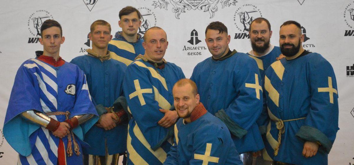 Щитом и мечом. Как рыцари из Барановичей и Ляховичей сражались за бронзу чемпионата мира по средневековому бою. Видео
