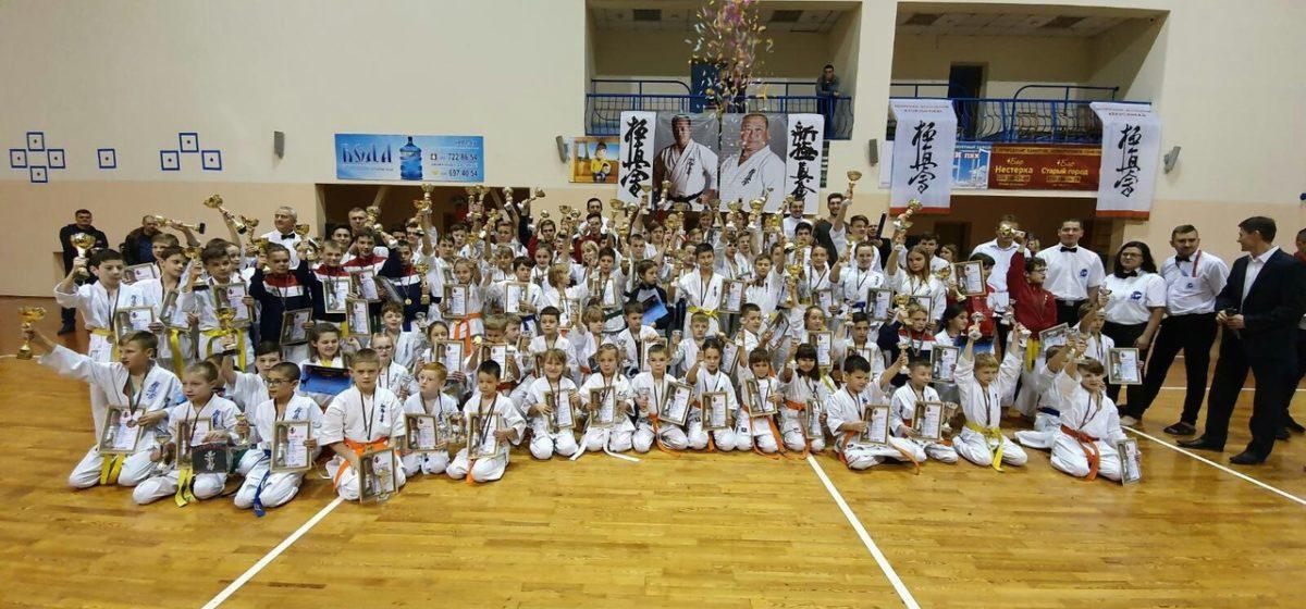 Юные каратисты отличились на барановичском турнире по Киокушинкай-каратэ