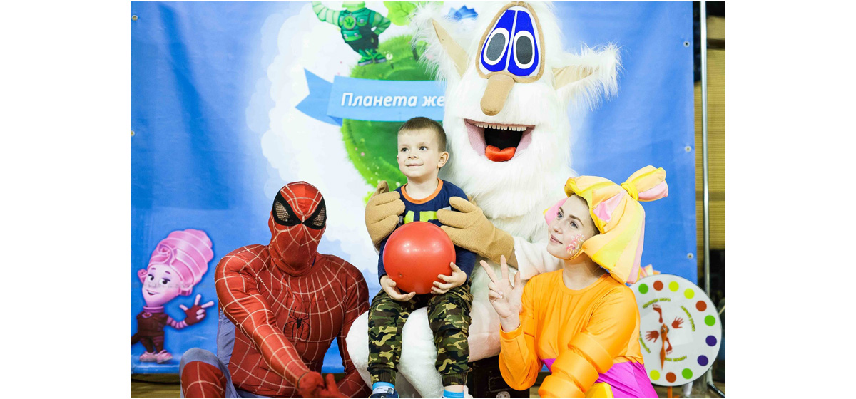 Буба и его веселые друзья приглашают на детское шоу!!!*