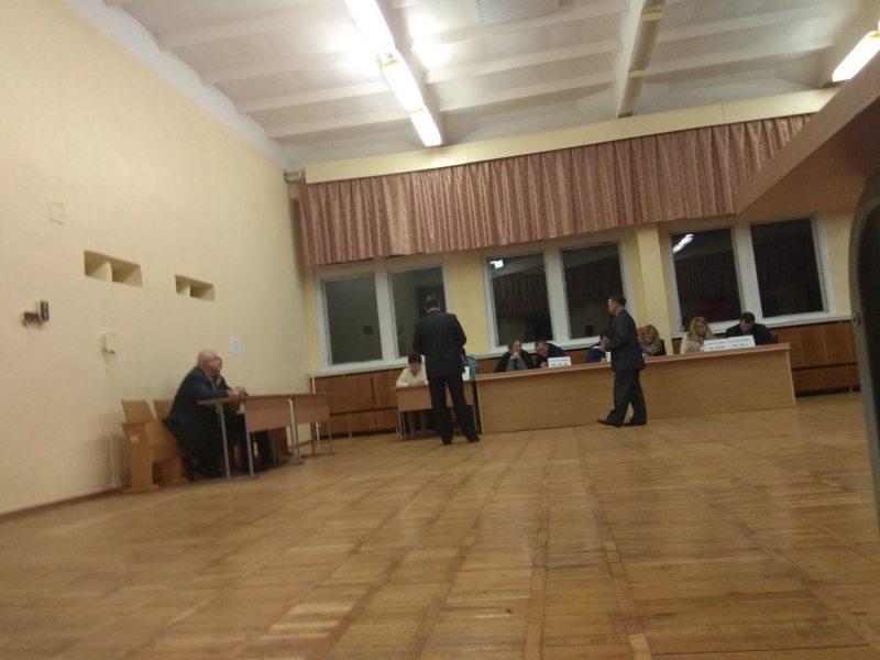 Борисов. Участок №24, избирательный округ №62