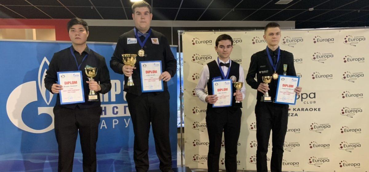 Бильярдист из Барановичей завоевал бронзу чемпионата мира
