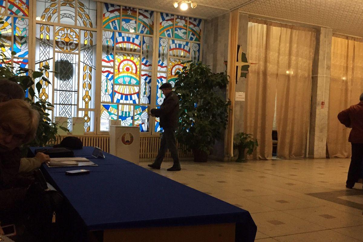 Участок №24 во Дворце детского творчества. Фото: Ирина КОМИК